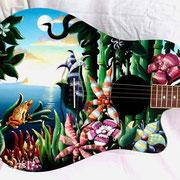"""Isola"", chitarra acustica"