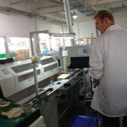 Qualitätskontrolle der Produktionsstätte in Shanghai : LED-SMD Bestückung