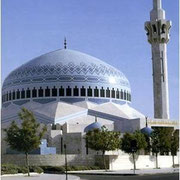 König Abdullah-Moschee in Amman mit Mauersegler-Nistplätzen