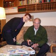 Rivka und Yossi Leshem zu Besuch beim NABU-Frankfurt