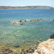einige Impressionen von der spärlich frequentierten Südküste der Peloponnes...