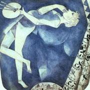 Le peintre sur la lune (1917)