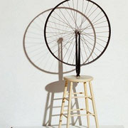 Bicycle Wheel (assisted readymade 1913)