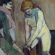 Femme Remontant Ses Bas (1894)