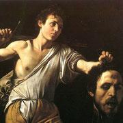 David et la tête de Goliath (1607)