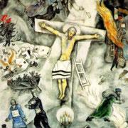 """White Crucifixion """"La crucifixion blanche"""" (1938)"""