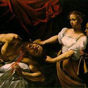 Judith décapitant Holophernes (1599)