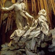La transverbération de Sainte Thérèse, Le Bernin (?)