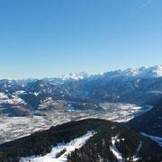 Blick auf das Tennengau (Österreich)
