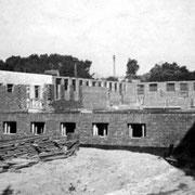 Der Rohbau um 1940