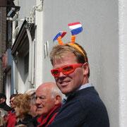 Jaap Dekker in Warffum im Koninginnendag 2004