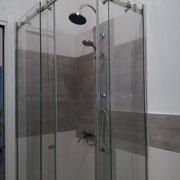 box doccia scorrevole doppia anta con vetro anticalcare