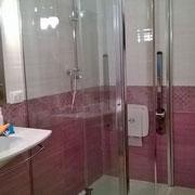 box doccia scorrevole con chiusura a soffietto