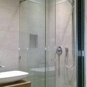 box doccia scorrevole con vetro anticalcare