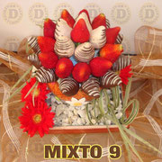 MIXTO 9  $ 600 (DULCES A ELEGIR)
