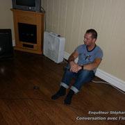 Stéphane dans une séance de Pve « Phénomène de voix électronique »