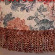 отделка абажура, изготовление абажура, пошив абажура, бахрома для абажура,шнур для абажура