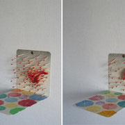 あめ 2010 マッチ、ブックエンド、アクリルほか 各16×15×21cm