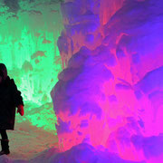 千歳市-支笏湖氷濤祭り