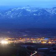 千望台公園からの夜景