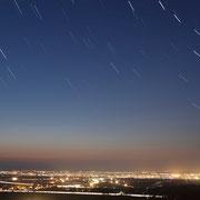 深川市 戸外炉峠からの夜景