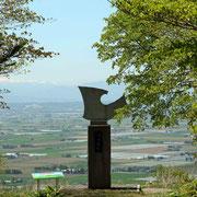 マオイ文学台 辻村もと子文学碑