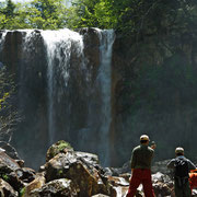 布部川上流 赤岩の滝
