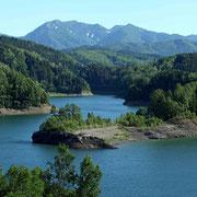 大雪ダム湖