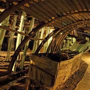 旧夕張炭鉱模擬坑道