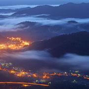 歌志内市 かもい岳山頂からの眺望