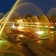 千歳市ー清流千歳川 噴水フェスティバル