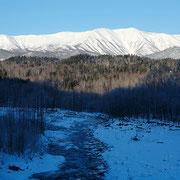 大雪山と石狩川【上川町】
