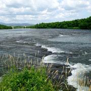 滝川市 タキカワカイギュウ化石発見地の空知川