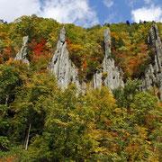 東川町 天人峡の秋