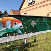Graffiti Künstler Spreewald Lübben