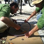 Atelier Mobile de réparation de vélos (2014)