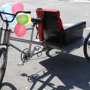 Un vélo bizarre