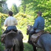 Balade à cheval en Ardèche