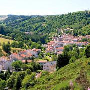 Vue de Saint-Cirgues-en-Montagne en Ardèche