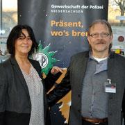 Sibylle Hein, stellv. Bezirksgruppenvorsitzende der BG Osnabrück, J. de Groot