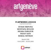 Artgenève 2019, Booth D30, Hall 2