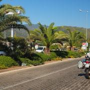 Palmenbewehrt lässt sich Marmaris umgehen