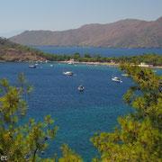 Idyllische Bucht bei Orhaniye