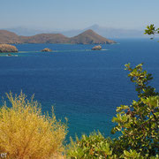 Blick auf die Orhaniye -Bucht