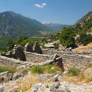 Arykanda im tiefen Taurus-Gebirge