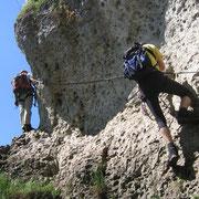 Höhenglück Klettersteig - Hirschbachtal / Hersbrucker Schweiz