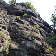 "Klettersteig Nonnenfels Erlabrunn - ""Walther Keiderling Klettersteig"""