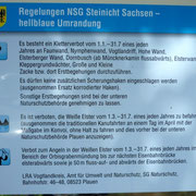 Regelungen NSG Steinicht für Thüringen und Sachsen