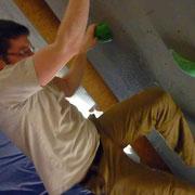 Mittwochstraining im Boulderboden Grünheide, 14.03.2012