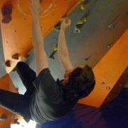 Mittwochstraining im Boulderboden Grünheide, 11.01.2012